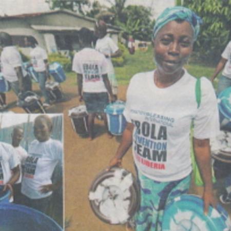11月30日クリスチャン新聞にエボラ出血熱緊急支援が掲載されました